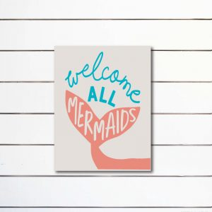 6046 Welcome All Mermaids